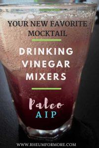 drinking vinegar, gut health