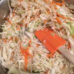 Paleo shrimp crack slaw quick entree