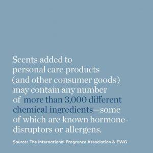 Non-toxic skin care routine.