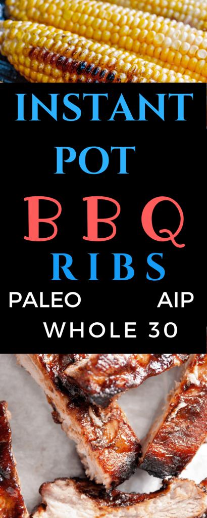 Paleo Instant Pot BBQ Ribs