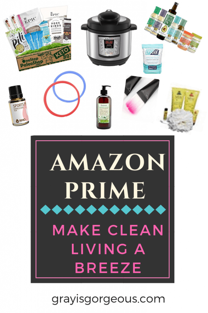 Amazon Prime clean living options