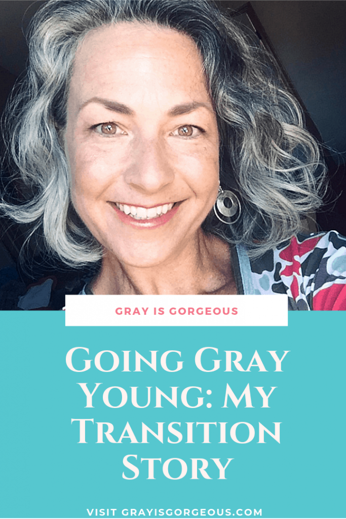My gray hair journey.  A growing out grey hair blog.