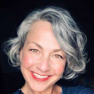 My gray hair journey.  A going gray blog.
