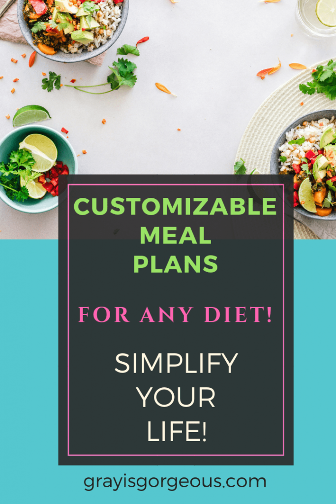 customizable meal plans