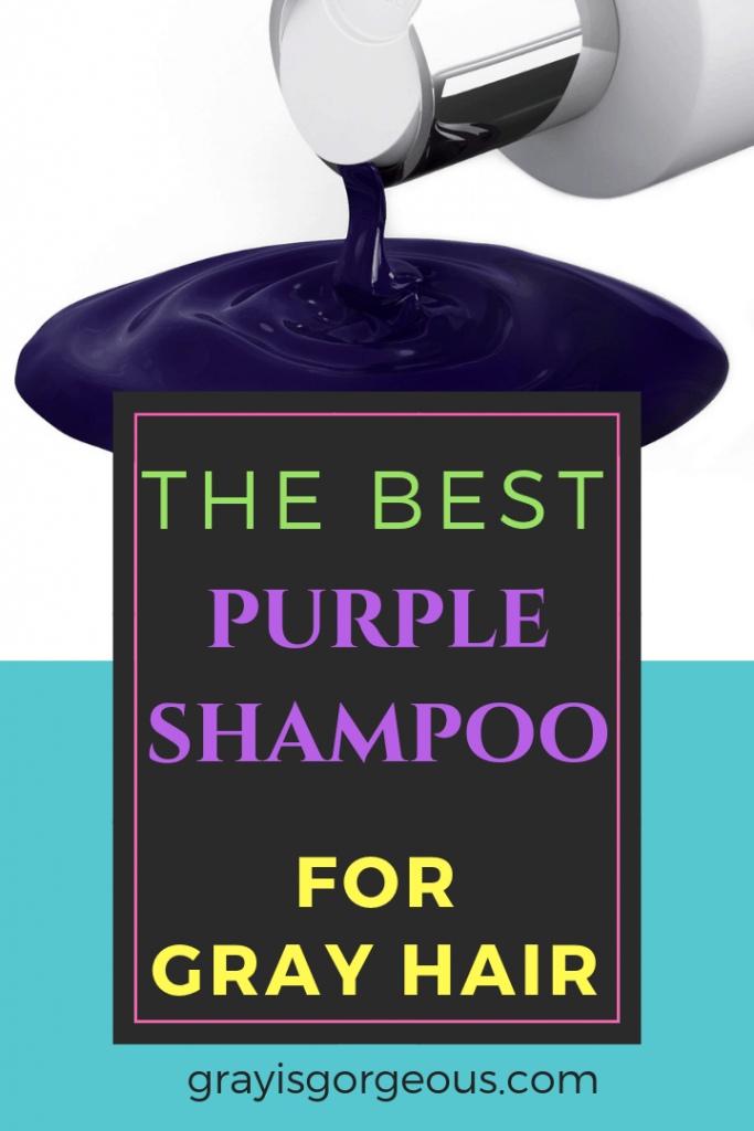 Best purple shampoo for gray hair.